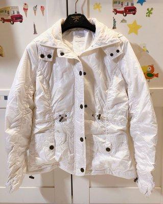 日本??品牌pou doudou 超輕量攜帶式珍珠白羽絨外套