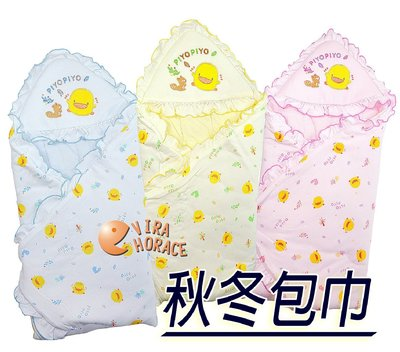 *玟玟*黃色小鴨 GT-81572 冬季包巾~柔軟保暖,猶如媽媽溫暖懷抱