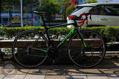 【高雄青蘋果3C】GIANT 捷安特 TCR ADVANCED 2 2018年 22段 車架M 二手腳踏車 #55655