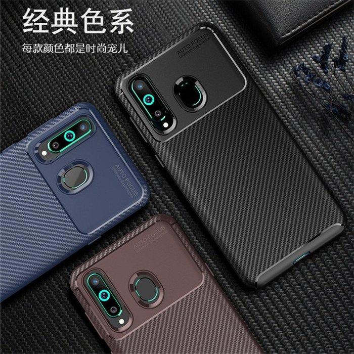 三星Galaxy A8S 2019版 手機殼 碳纖維拉絲 商務型 軟殼全包 攝像頭保護 防摔抗震 保護套