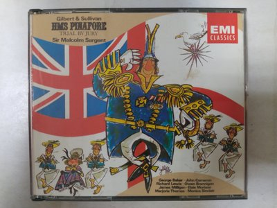 昀嫣音樂(CDa83)   GILBERT & SULLIVAN HMS PINAFORE TRIAL BY JURY