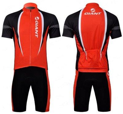 二套免運 車隊 紅黑 短袖 自行車套裝...