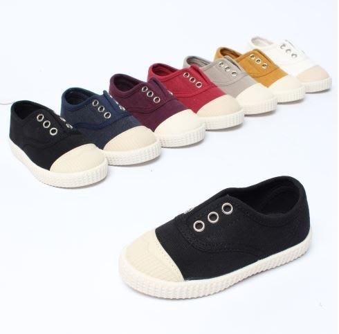 『※妳好,可愛※』韓國童鞋 韓國女鞋 休閒親子鞋.韓國親子 平底鞋 樂福鞋 懶人鞋帆布鞋(親子鞋)