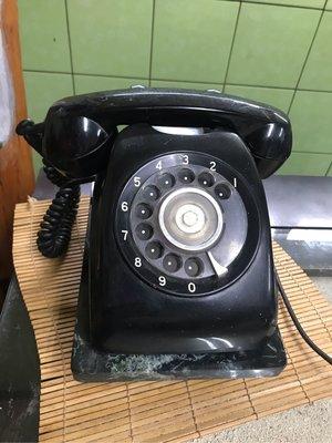 民國62年600型電話 早期播盤電話