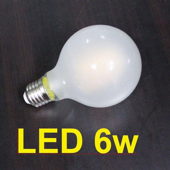 【58街】台灣晶元光電燈絲「G80珍珠 龍珠類燈絲LED燈泡 」。複刻版。G-163