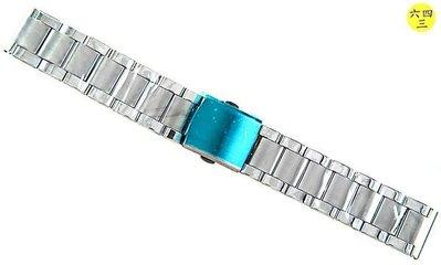 @(六四三精品)@不銹鋼錶帶.........2.0公分尺寸....不退色不過敏超防水!!