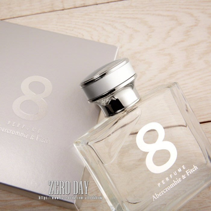 【零時差美國時尚網】A&F專櫃真品Abercrombie&Fitch經典迷人香味8 PERFUME香水 情人節禮物