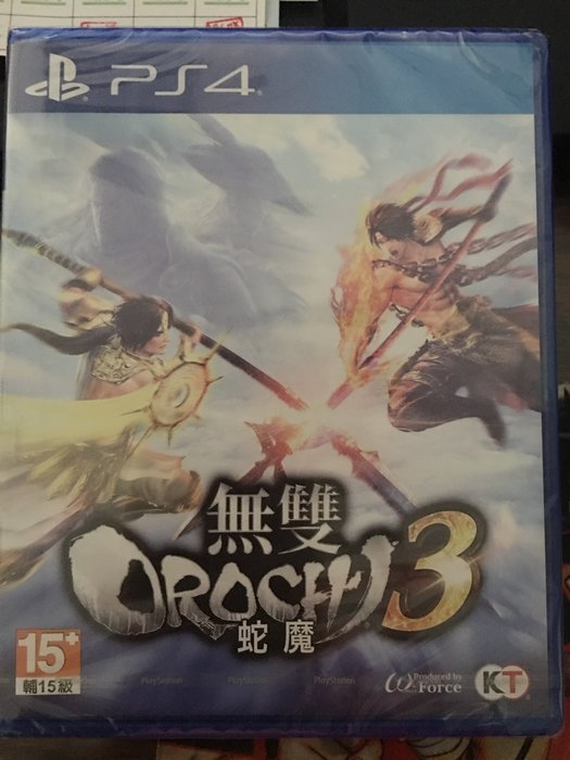 毛毛的窩 PS4 無雙 OROCHI 蛇魔3 (中文普通版)~保證全新未拆封