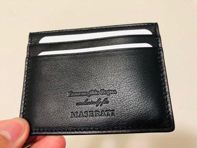 Ermenegildo Zegna x Maserati Cardholder 卡片夾 全新