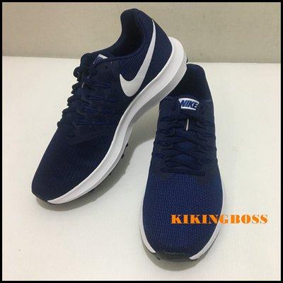 【喬治城】NIKE FABRIQUE AU VIETNAM 運動慢跑鞋 藍色白勾 908989-404 特價2290元