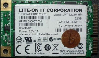 MSATA 32GB LMS-32L3M-HP LITE-ON IT 32G SSD硬碟MINI-SATA 695867