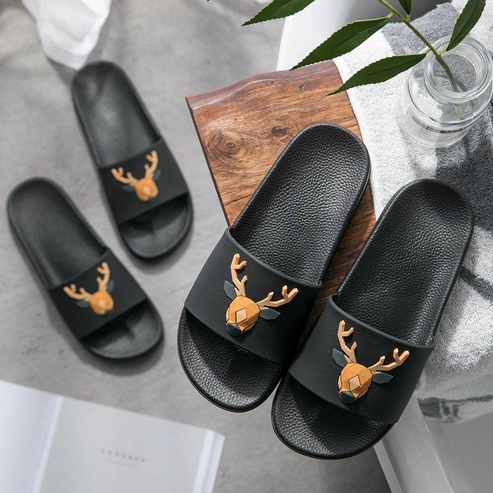 SX千貨鋪-男生拖鞋一家三口親子家居家用室內黑色男女士涼拖鞋夏天外穿拖鞋#拖鞋#皮鞋#外出拖鞋#男士女士#防滑