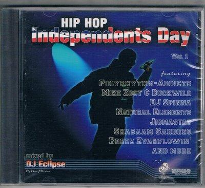 [鑫隆音樂]西洋CD-HIP HOP / Independents Day {NRV20288}/全新/免競標