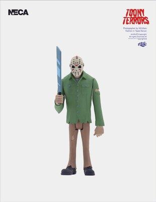 ArtLife @ NECA Toony Terrors Stylized 恐怖系列 JASON 十三號星期五 傑森