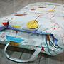 【Fotex芙特斯】超舒眠兒童防塵蹣午安被/防蹣睡袋_兔兔嘉年華粉藍(與3m,北之特防螨同級品)