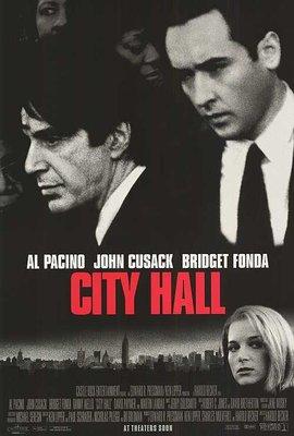 檔案風暴-City Hall (1996)原版電影海報