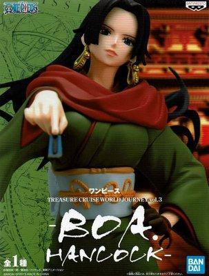 日本正版 景品 海賊王 航海王 TCWJ vol.3 漢考克 模型 公仔 日本代購