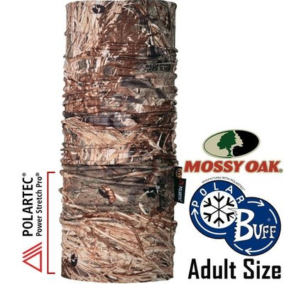 BUFF 100469_Mossy Oak授權 Polar單面保暖魔術頭巾 Polartec防臭領巾/快乾圍巾/排汗頭帶