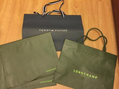 Tommy Longchamp 紙袋 提袋 信封袋 共4入 不分售