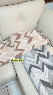 Hermes 沙發毯,毛毯,黑色駝色全新現貨