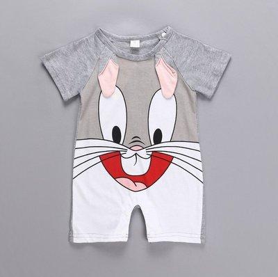 兔寶寶 兔子 小灰兔 包屁衣 爬行衣 寶寶衣 嬰兒衣 幼兒裝 BABY衣 北鼻衣 學齡前