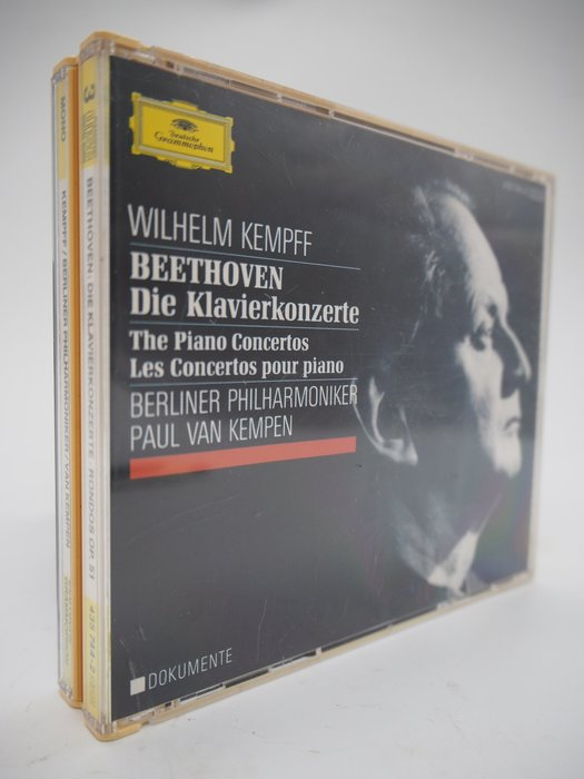 【月界】Beethoven:Piano Concerti_Wilhelm Kempff_3CD裝_古典樂 〖專輯〗CIR