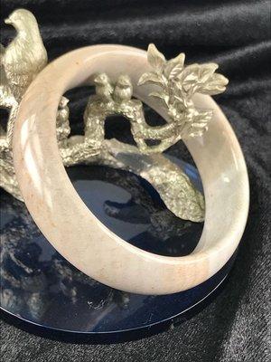 現貨在台北/珊瑚玉手鐲18.5鐲圍/文青最佳手飾單品