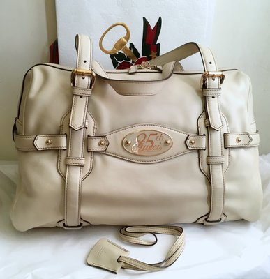 Gucci vintage *85週年紀念限量走秀款*手提兩用包(😘原價近10萬元;出清優惠價!物超所值喔!)