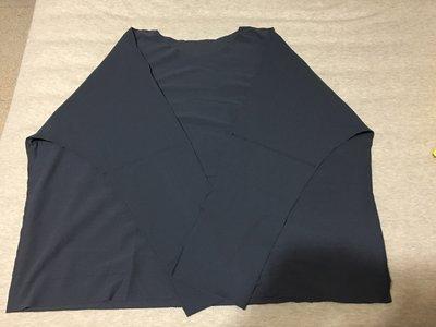 《近全新》三宅一生 me 灰藍色 Apoc 長袖上衣(pleats please/PP)