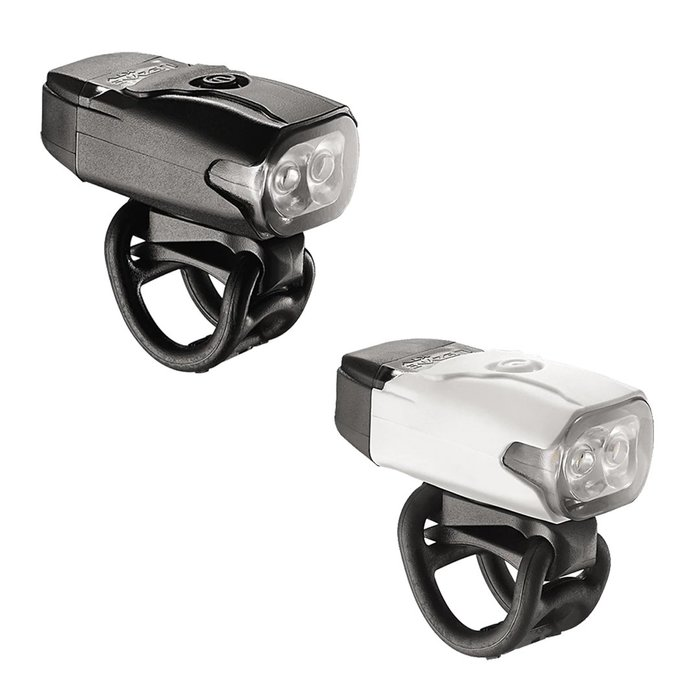 【三鉄共購】【LEZYNE】KTV DRIVE FRONT USB充電防水前車燈 - 2色