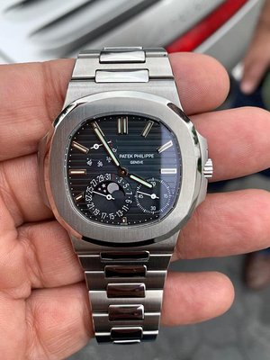 Patek Philippe [NEW] Stainless Steel Nautilus 5712/1A Blue Dial Watch