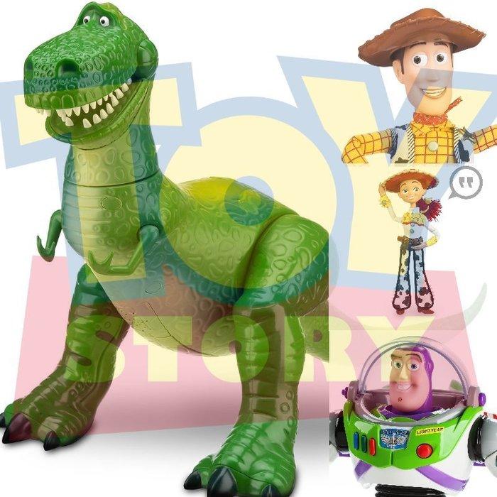 現貨【迪士尼 Disney Pixar】全新正品 玩具總動員 會說話電影版 抱抱龍 暴龍 胡迪 巴斯光年【高約30公分】