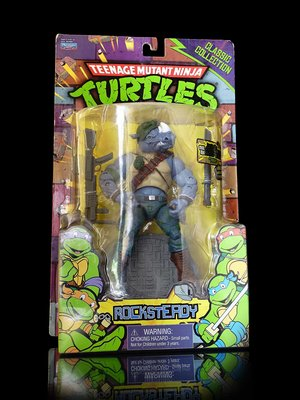 D-2 櫃 : 2013 ROCKSTEADY 洛克史迪 忍者龜 NINJA TURTLES 天貴玩具店