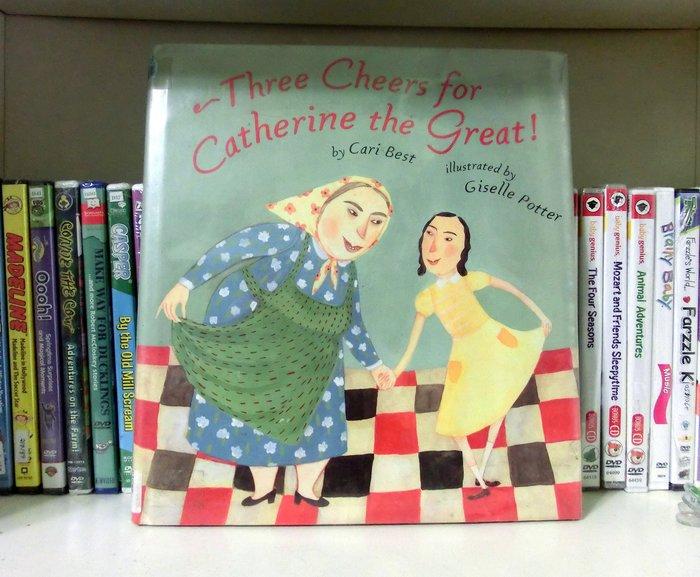 *【兒童英語繪本】*小pen外文童書~~Three Cheers for Catherine the Great!