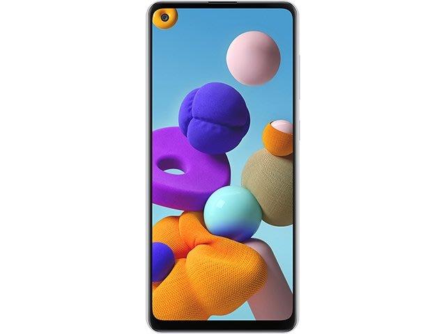 【天語手機館】SAMSUNG A21s 現金直購價$5600**玻璃貼特價$150**