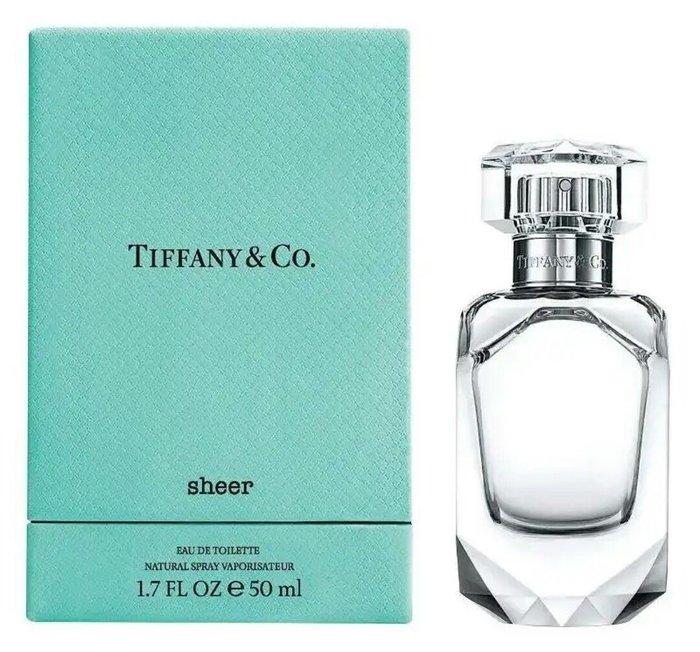 天使熊雜貨小舖~Tiffany & Co.同名晶淬淡香水50ml  附盒  全新現貨