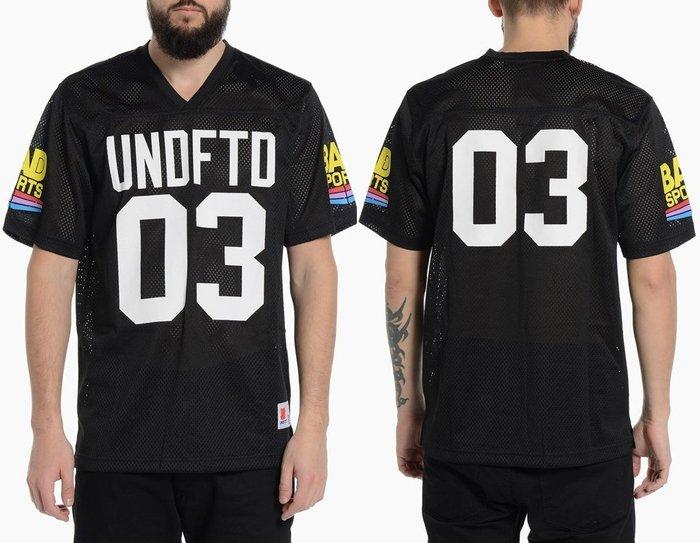 【 超搶手 】全新正品 最新款UNDEFEATED BAD SPORTS TEE美式足球 V領球衣 透氣S M L XL
