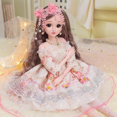新風小鋪-洋娃娃玩具圣誕禮物女孩60厘米怡甜芭比仿真大號公主超大單個套裝