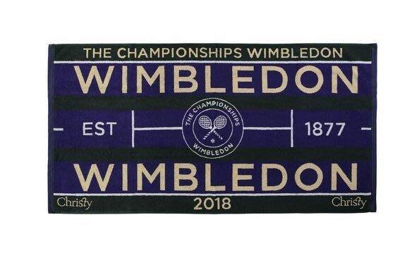 全新溫布頓大毛巾Wimbledon 2018