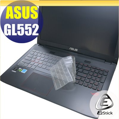 【Ezstick】ASUS GL552 GL552V GL552VW 奈米銀抗菌TPU 鍵盤保護膜 鍵盤膜