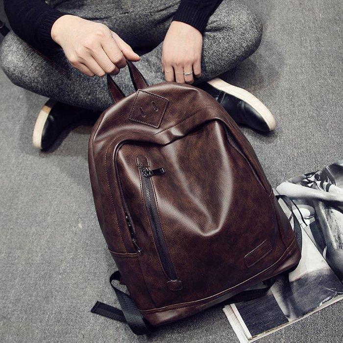 爆款熱賣-潮流時尚青年戶外背包旅行雙肩行李包 韓版男包背包書包