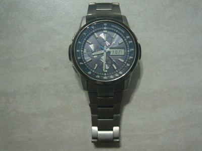 【~嘟嘟電玩屋~】CASIO 卡西歐 OCEANUS 海神 OCW-500TDJ  鈦金屬太陽能 計時錶