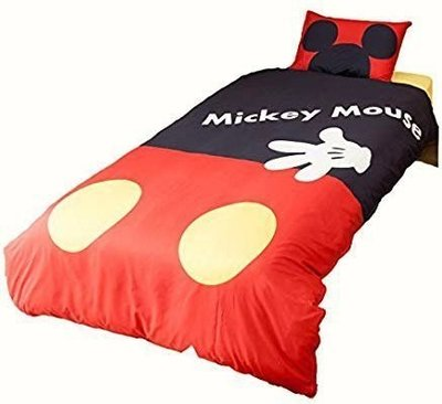 Disney 米奇 米妮 單人床包 枕頭套+床包 日本原裝進口 任選一款