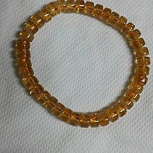 6mm柱型黃水晶