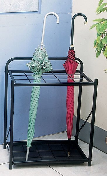 ☆成志金屬☆nr-1a 工業粉體塗裝傘架,折疊式設計無需組裝,真材實料,可放15支雨傘。