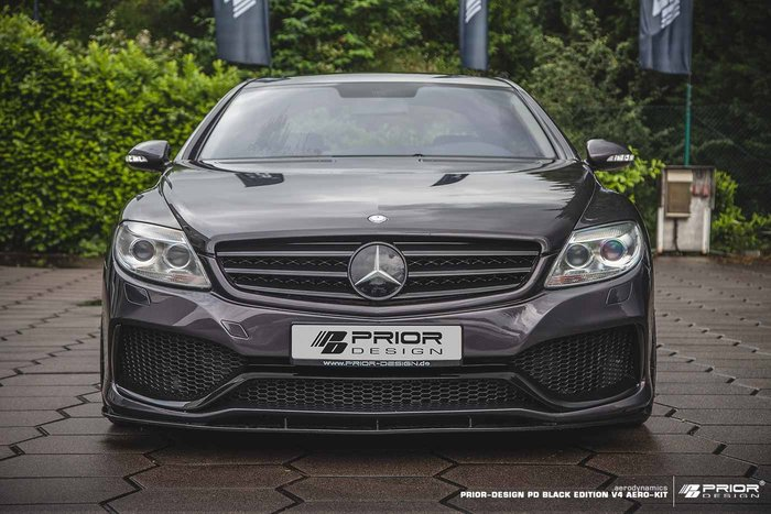【樂駒】PRIOR DESIGN PD BE V4 Aerodynamik Mercedes CL W216 空力 大包
