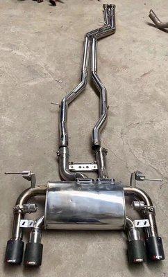 【YGAUTO】二手時間 BMW F80 M3 M4 改裝MARCO 閥門排氣管中尾段 當派/排氣管/底盤