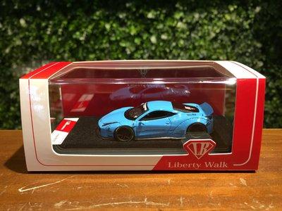 1/64 LB-WORKS Ferrari 458 Italia Miami Blue【MGM】