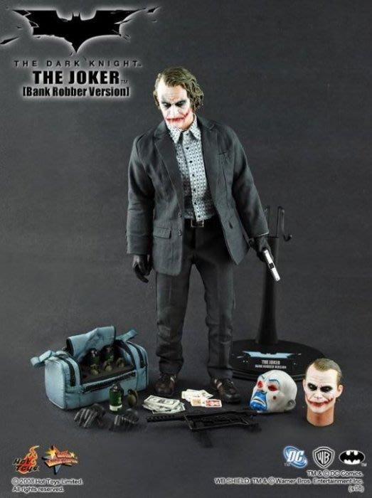 全新 Hot Toys 1/6 MMS79 黑暗騎士 The Joker 小丑 銀行搶匪 希斯 萊傑