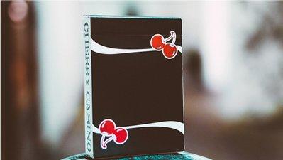 【USPCC 撲克】S103049117 Cherry Casino V3 True Black Playing Cards